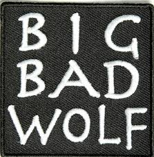amazon black friday deals terrible embroidered iron on patch big bad wolf 2 5