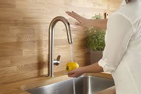 beale touchless kitchen faucet from american standard wins