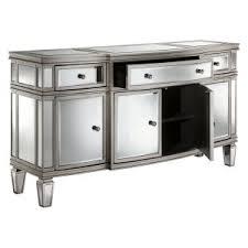 White Sideboard With Glass Doors Sideboards U0026 Buffets With Glass Doors Hayneedle