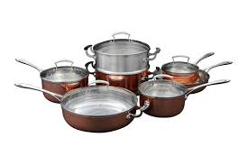 amazon black friday canada saucepan copper bottom saucepan set kitchenaid copper cookware