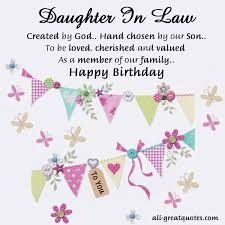 sweetest daughter in law birthday cards to share sayings 48147