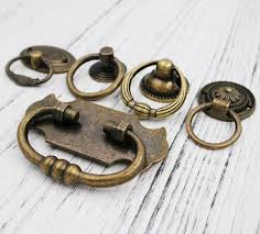 Brass Ring Pulls Cabinet Hardware by Compare Prices On Brass Ring Pull Online Shopping Buy Low Price