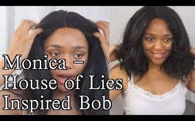 bob haircut inspired by monica house of lies youtube