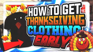 new thanksgiving clothes released for 2k18 new