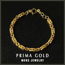 jewelry man gold bracelet images Prima gold japan it is recommended to pure gold men bracelet k24 jpg