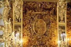 chambre ambre chambre d ambre palais catherine à pouchkine petersbourg