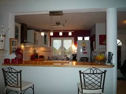 cuisine ouverte avec comptoir comptoir bar cuisine americaine cuisine en image