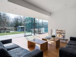 Semi Detached Home Design News London Practice Joins Two Semi Detached Houses With Glazed