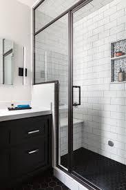 gorgeous bathrooms bathroom gorgeous bathroom white subway tile with dark floor