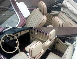 Bmw E30 Interior Restoration Vw Karmann Ghia Convertible Interior Restoration Sewing Leather