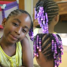 images of kids hair braiding in a mohalk kids edition side mohawk braids with beads watch me work youtube