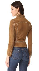 derek lam 10 crosby studded suede jacket shopbop