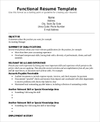 Sample Resume For A Construction Worker by Example Of A Functional Resume Sample Functional Sample Resume