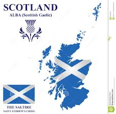 Scotland Flags Scotland Flag Stock Vector Image Of Celtic Isolated 50501854