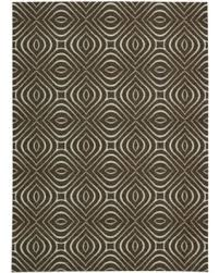 Graphic Area Rugs Big Deal On Nourison Rug Squared Milford Chocolate Graphic Area