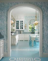 Greek Key Motif Blue And White Greek Key Motif On Floor Circle Motif On Floor