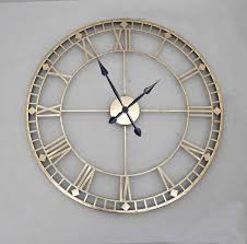 Designer Clock by Contemporary Large Wall Clocks Extra Large Big Wall Clocks