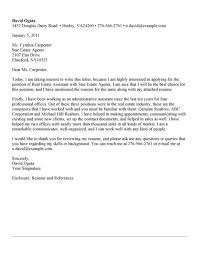 personal assistant cover letter sample administrative assistant