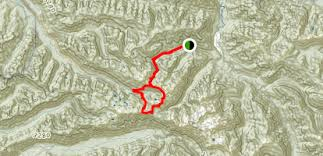 springs washington map olympic springs appleton pass and sol duc loop trail