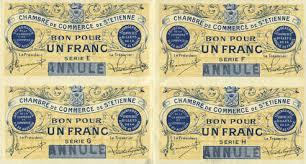 chambre de commerce st etienne banknotes emergency notes etienne 42 chambre de