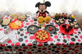 mickey mouse party easy mickey mouse party ideas food activities