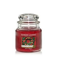 apple wreath yankee candle