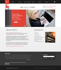 modern web design serious modern web design for adam gardner by ad design