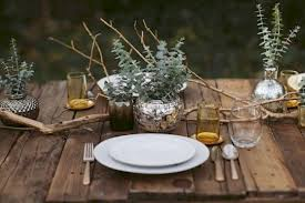 rustic dinner table settings rustic thanksgiving dinner table setting honest cooking