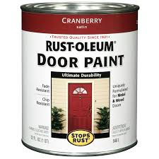 shop rust oleum stops rust cranberry semi gloss semi gloss oil