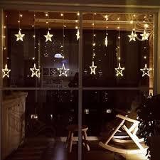 5m 138leds light string star curtain light home decor celebration