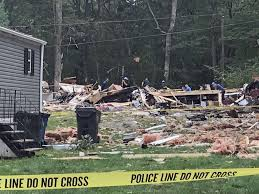 Clinton Houses Officials Investigate Cause Of Fatal Explosion At Trailer Park In