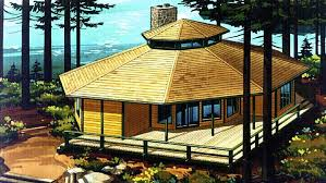 Octagon Home Plans Nick Modern Style Octagon Log Home Nick And My Dream Home