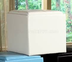 ladd storage cube ottoman by homelegance set of 2