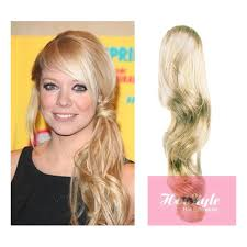 wavy hair extensions clip in human hair ponytail wrap hair extension 20 wavy