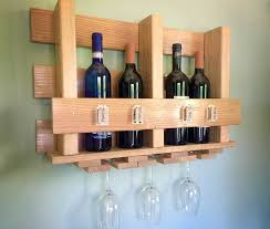 diy wine glass rack and wine bottle holder fiskars