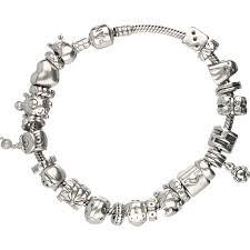 pandora silver clip bracelet images 925 silver pandora bracelet with 26 pandora charms consisting of jpg