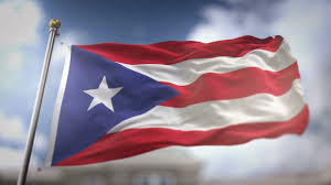 Cuba And Puerto Rico Flag 3d Waving Puerto Rico Flag Background Red Blue And White Colors