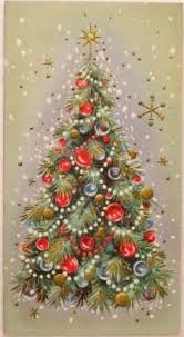 386 best christmas vintage trees images on pinterest vintage
