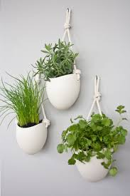 Modern Hanging Planters 10 Modern Wall Mounted Plant Holders To Decorate Bare Walls