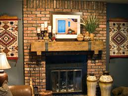 rustic living room fireplace mantel decor primitive ideas