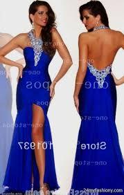 royal blue open back prom dress 2016 2017 b2b fashion