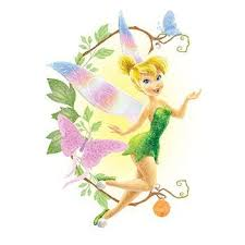 glitter disney tinkerbell fairy temporary tattoo infamous
