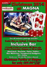 magna christmas party nights 2014 rotherham events rotherham