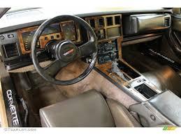 1989 Corvette Interior Bronze Interior 1984 Chevrolet Corvette Coupe Photo 51773776
