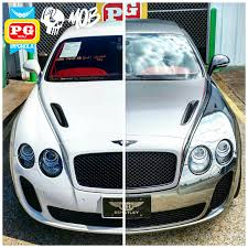 chrome bentley bentley continental gt supersports wrapped in black chrome w