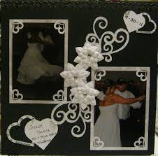 scrapbook for wedding 48 best wedding scrapbook layouts images on wedding