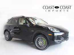 Porsche Cayenne Hybrid - used car inventory coast to coast auto sales fishers in