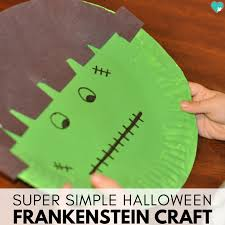 Fun Halloween Crafts - simple u0026 fun frankenstein halloween craft for kids this