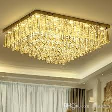 European Ceiling Lights Dimmable Led Chandeliers Ceiling Light Led Rectangle European
