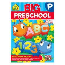 big preschool workbook ages 3 5 walmart com